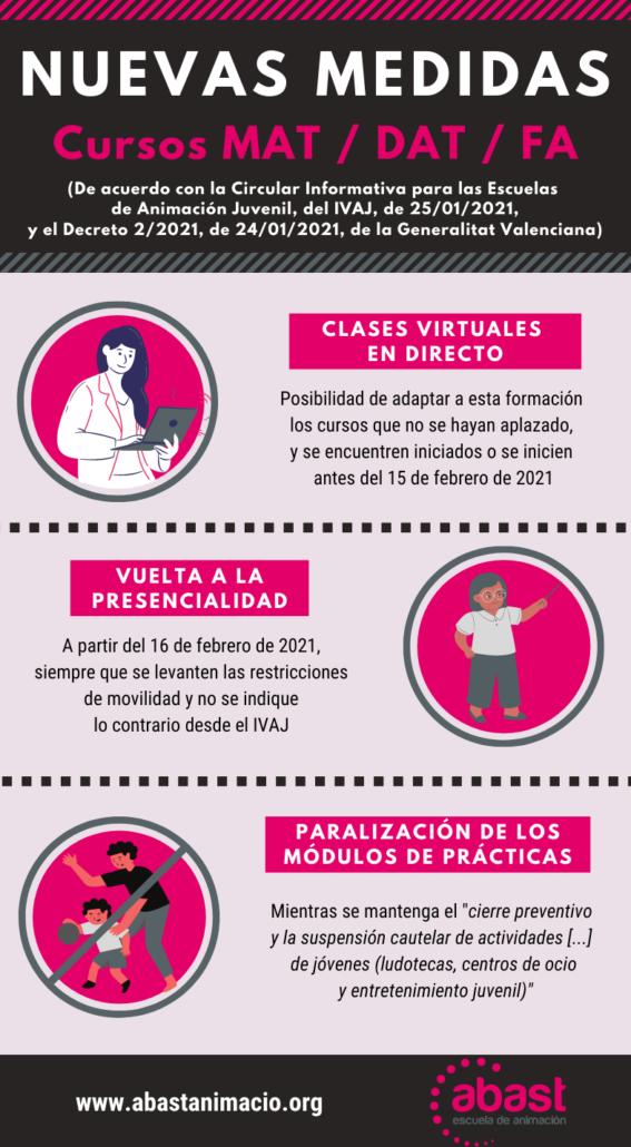 CIRCULAR INFORMATIVA PER A LES ESCOLES D'ANIMACIÓ JUVENIL